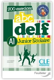 Lucile Chapiro, Adrien Payet - abc DELF  A1 Junior Scolaire aux �ditions Cle International