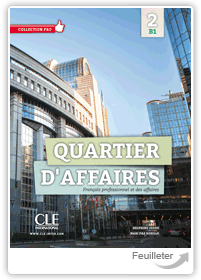 Delphine J�gou, MP Rosillo - Quartier d'affaires 2 - Niveau B1 aux �ditions Cle International