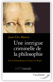 Une intrigue criminelle de la philosophie