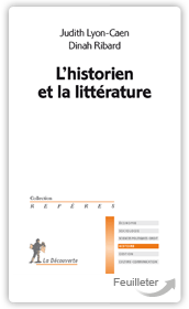L'historien et la litt&eacute;rature