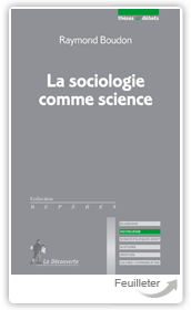 Raym200 Boudon - 167sociologie comme science aux ditions La Decouverte