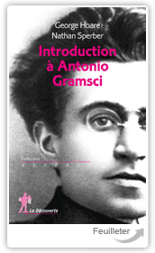 Geor200HOARE, Nat167 SPERBER - Introduction  Antonio Gramsci aux ditions La Decouverte
