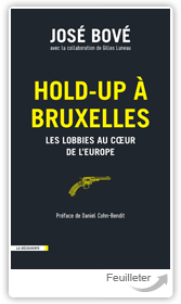 José 200E, Gilles LU167U - Hold-up à Bruxelles aux éditions La Decouverte
