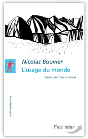 Nicol200BOUVIER, Thi167y VERNET - L'usage du monde aux éditions La Decouverte